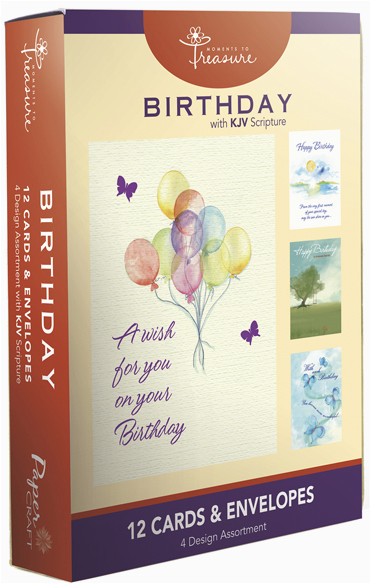 wholesale religious boxed cards with scripture birthday