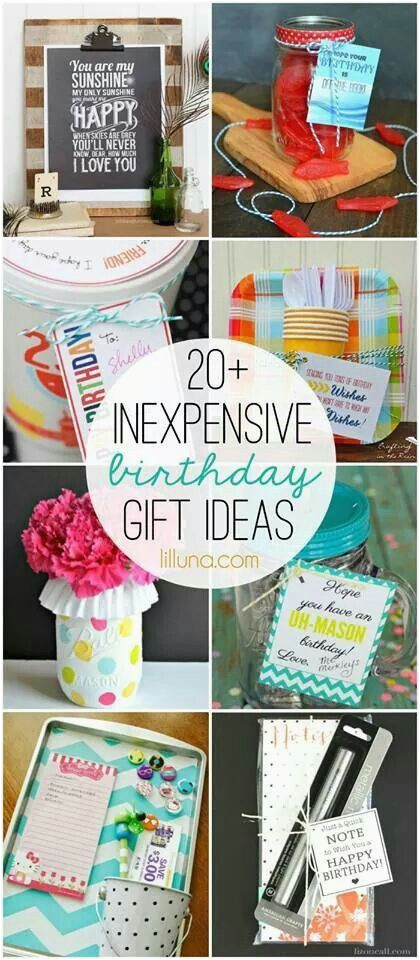 Cheap Gifts For Mom On Her Birthday 1000 Ideas About Inexpensive Pinterest