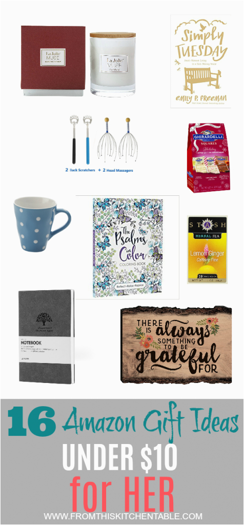 Cheap Gift Ideas For Her From This Kitchen Table