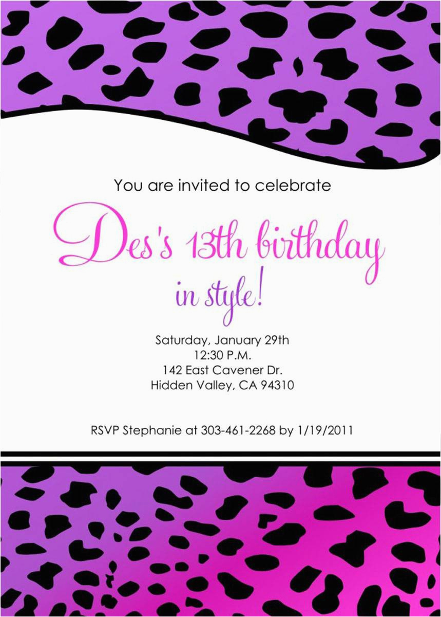 cheap birthday invitations