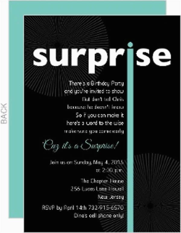 birthday invitation pdf