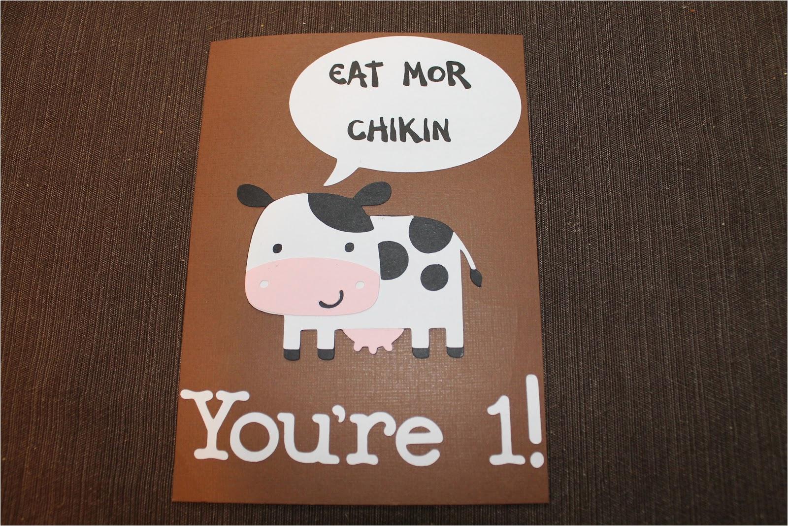 chick fil birthday card