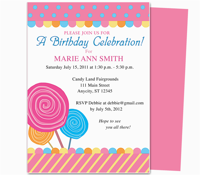 Child Birthday Party Invitation Wording Kids Invitations Ideas Free