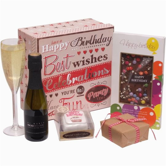 Chocolate Gifts For Her Birthday Gift Box Hamper Prosecco And