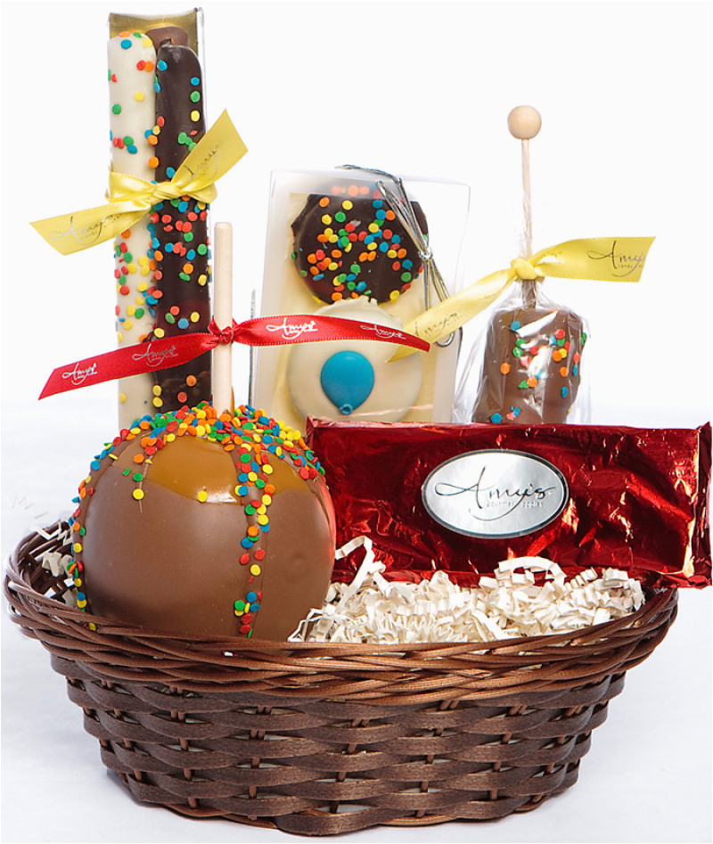 Chocolate Gifts For Her Birthday Happy Gift Basket