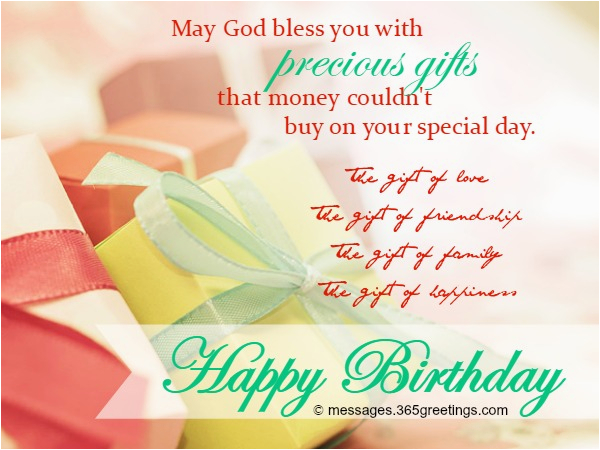 Christian Birthday Cards For Women Wishes Religious