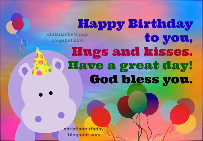 christian birthday card blessings for