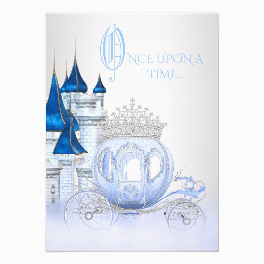 cinderella princess birthday card zazzle com