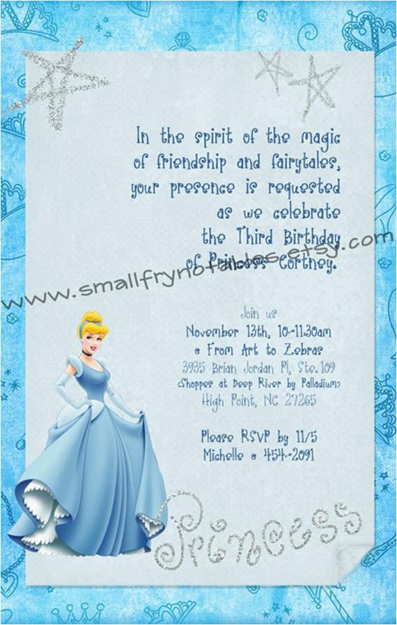 cinderella blue princess party