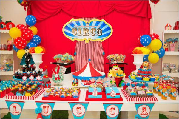 Circus Themed Birthday Party Decorations Birthdaybuzz
