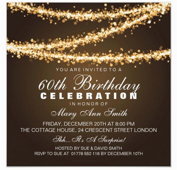 elegant birthday invitation templates free download