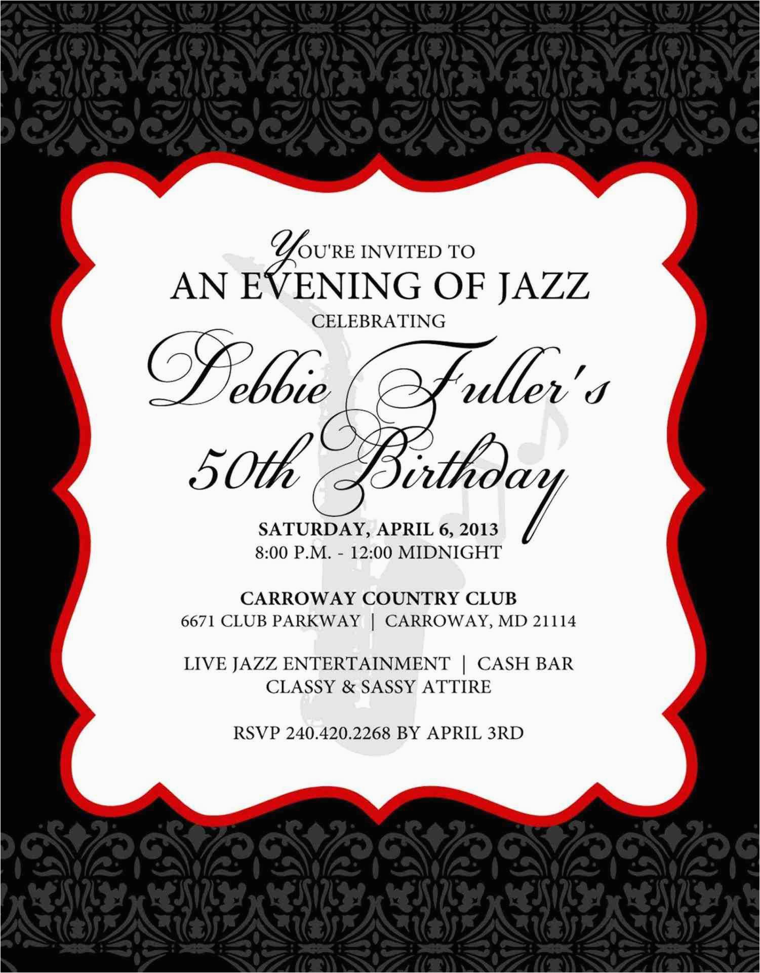 free elegant birthday invitation templates