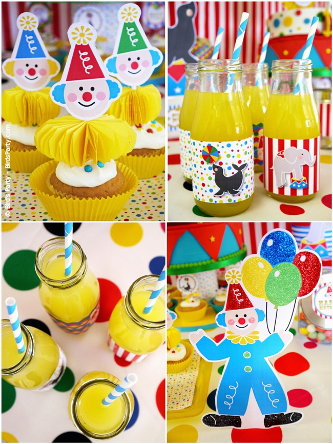 Clown Birthday Party Decorations My Kids 39 Joint Big top Circus Carnival Birthday Party