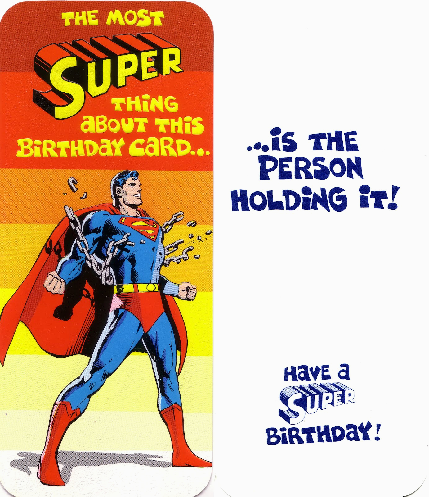 Comic Birthday Cards Free My Comic Board Banners and More Superman and Dc Greeting