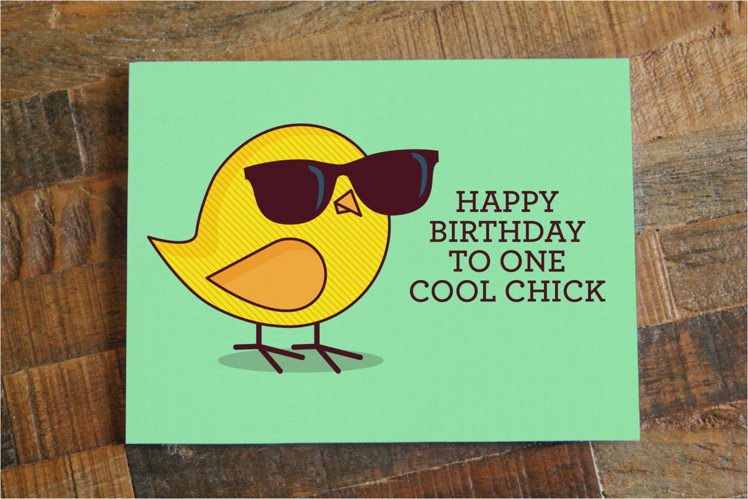 funny birthday card for her happy