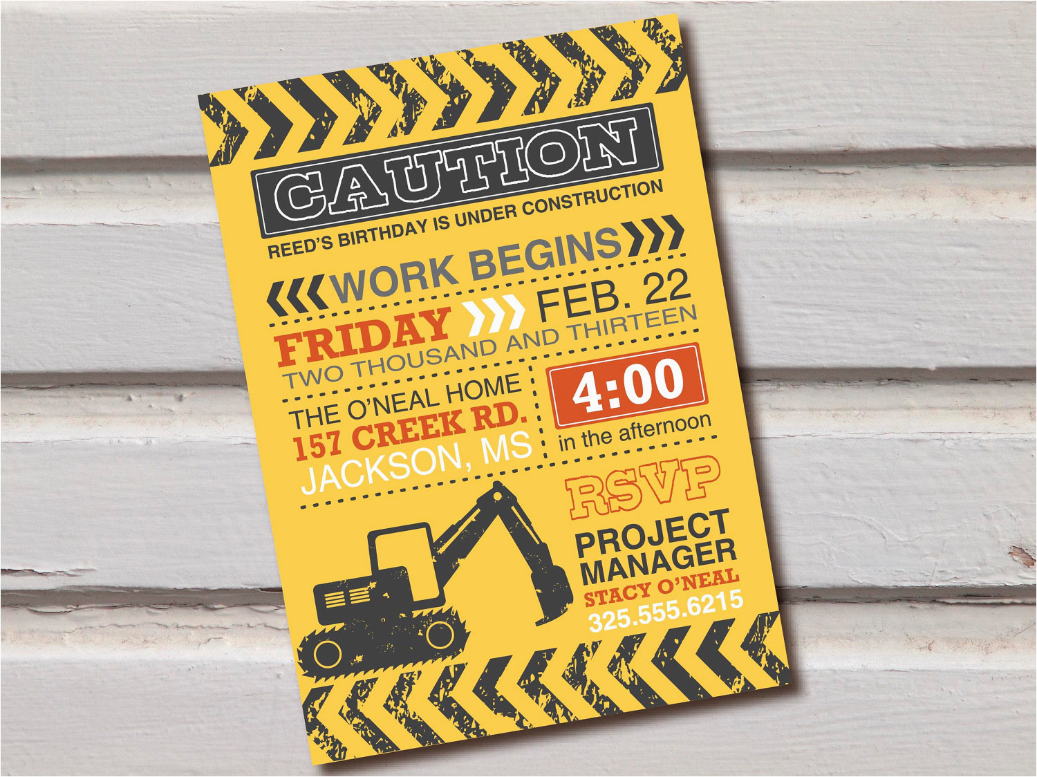 unique decorations for construction themed birthday party