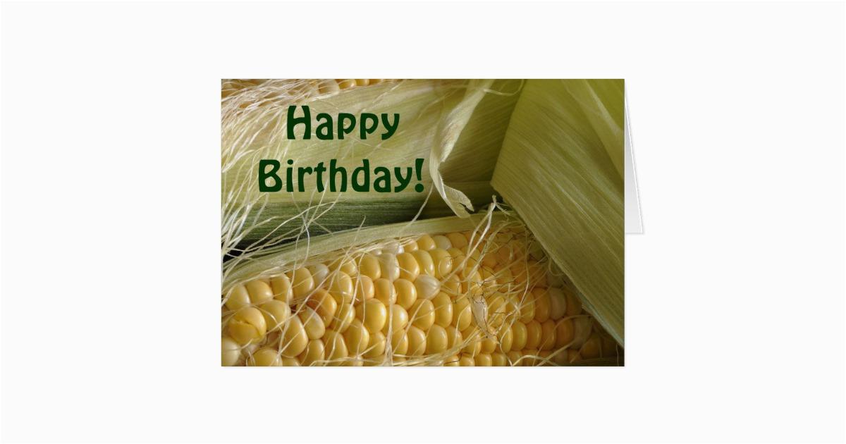 corny birthday card zazzle