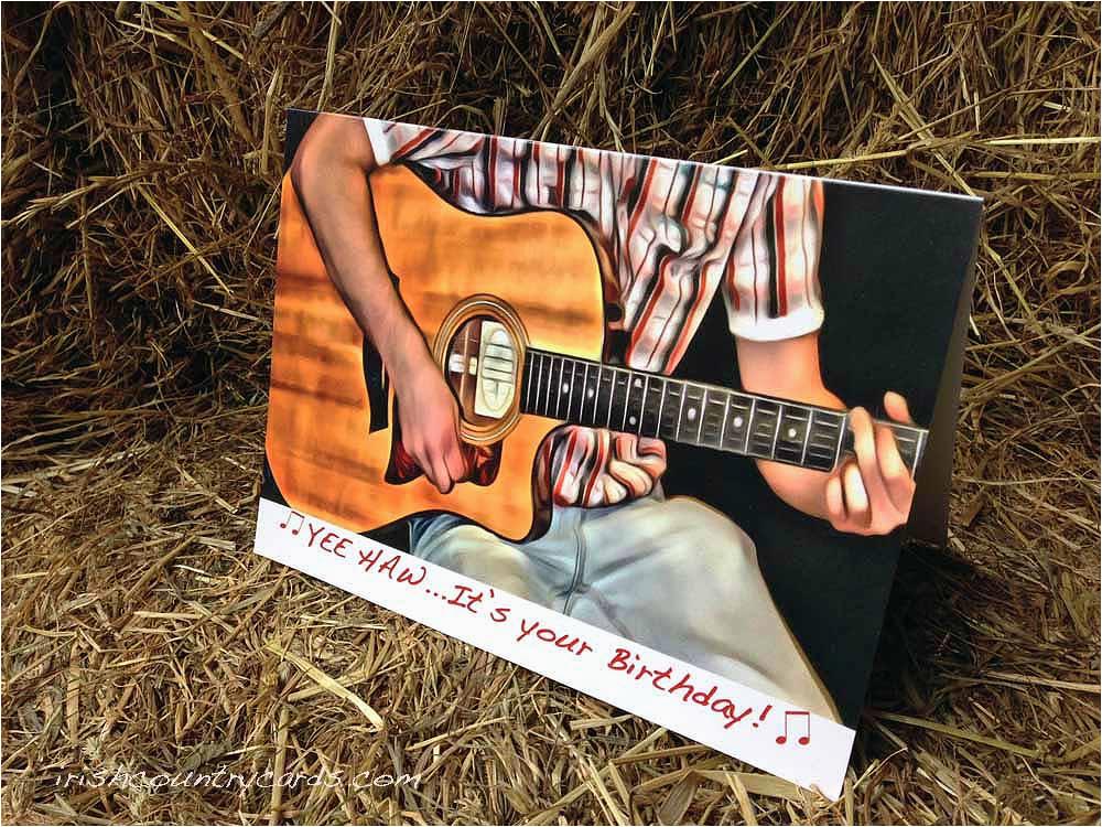 birthday country music irish country cards