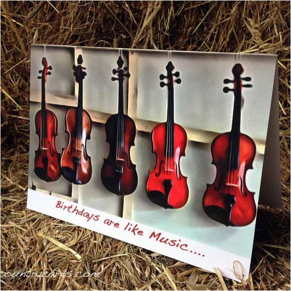 birthday trad music irish country cards