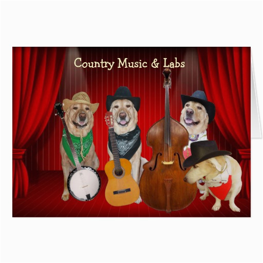 country music labs customizable birthday cards zazzle