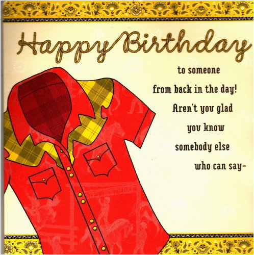 country western musical birthday greeting card barbara