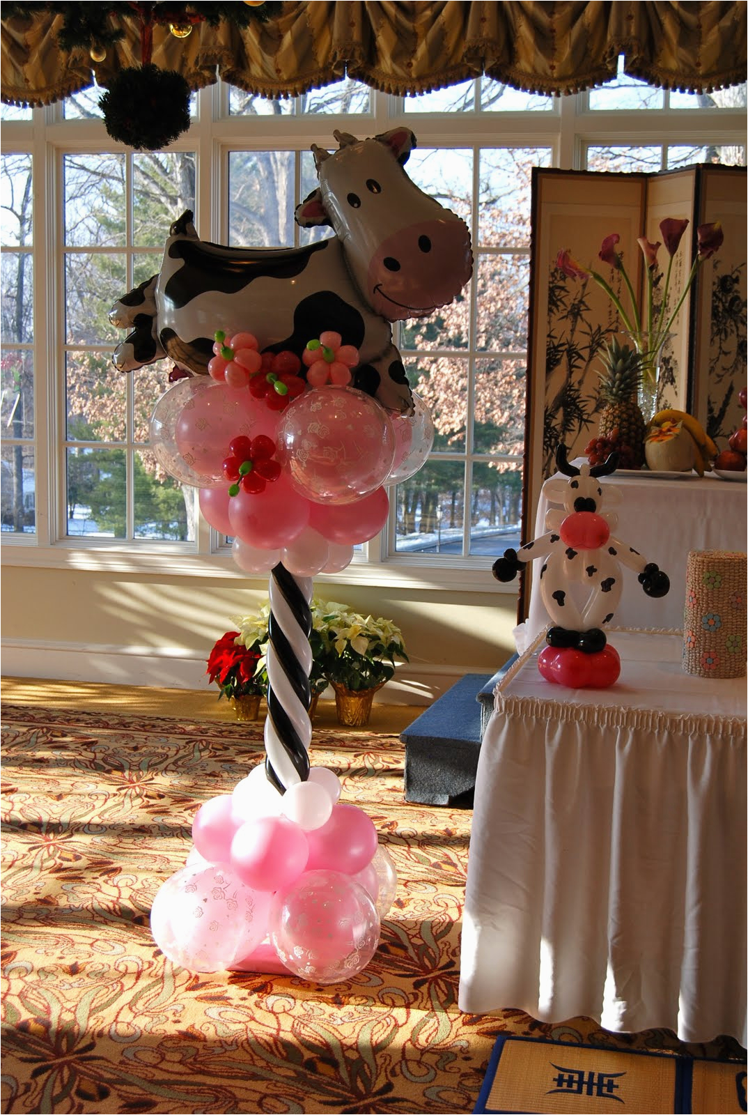 laurens cow themed 1st birthday party