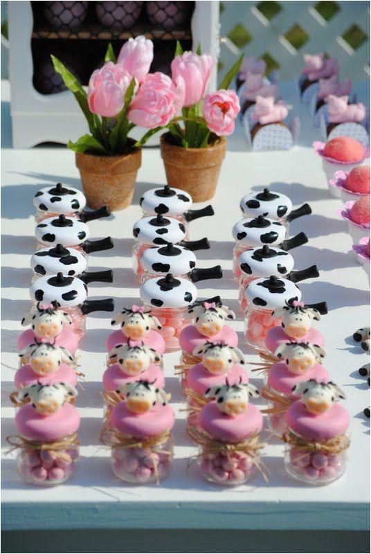 cow print cakes