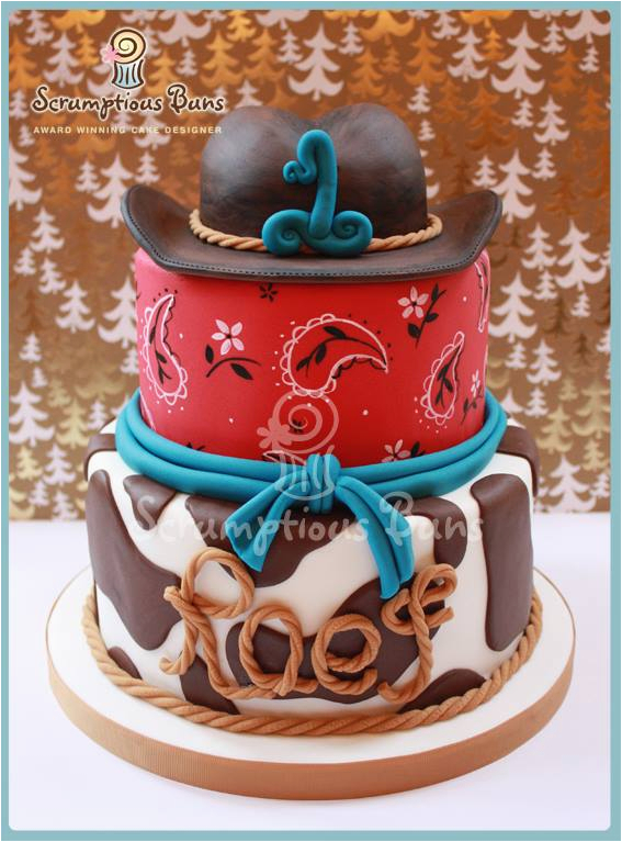 cowboy cake and cupcake ideas
