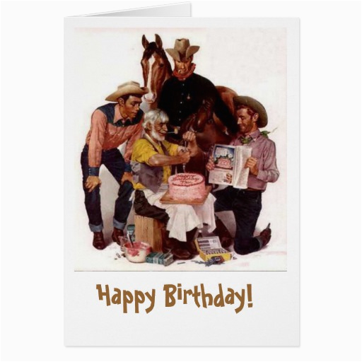Cowboy Birthday Card Sayings Cowboy Birthday Quotes Quotesgram