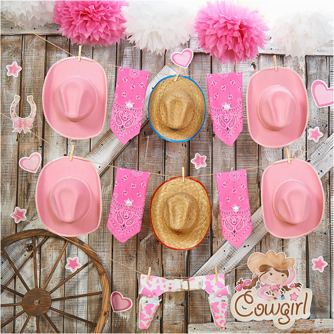 pink cowgirl birthday party