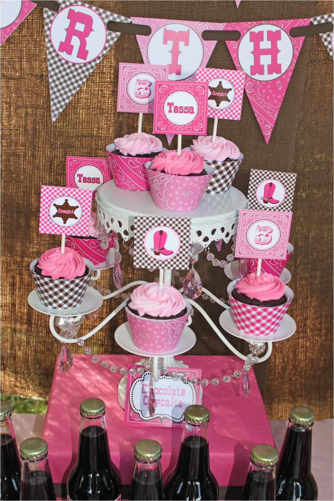 tessas cowgirl birthday party