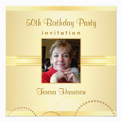 Create 50th Birthday Invitations Free Party Your Own Zazzle