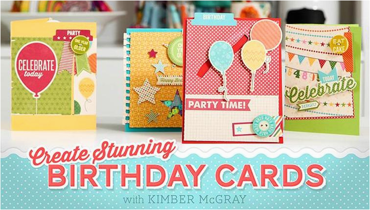 create stunning birthday cards online class craftsy