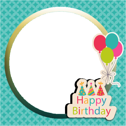 create beautiful birthday wishes greeting with your photo
