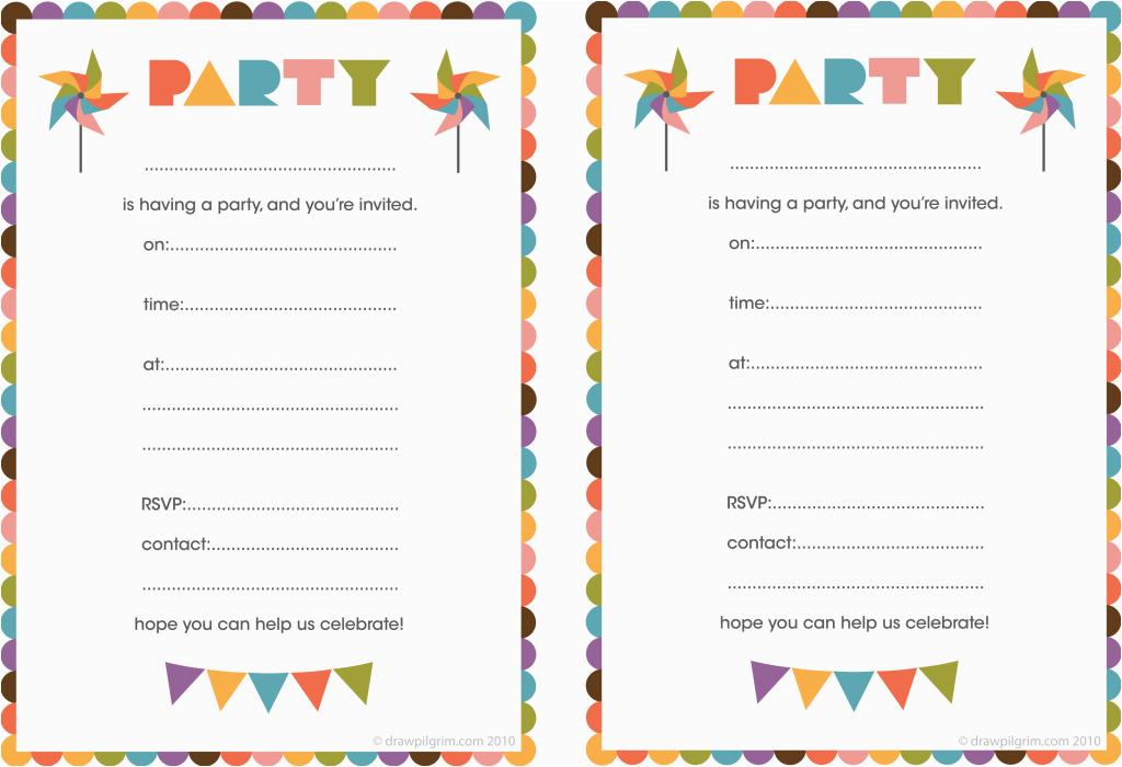 printable birthday invitation for the invitations design of your inspiration birthday invitation templates party 9