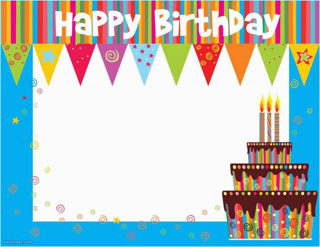 Create Birthday Card With Photo Online Free 50 Beautiful Happy Greetings Design Examples