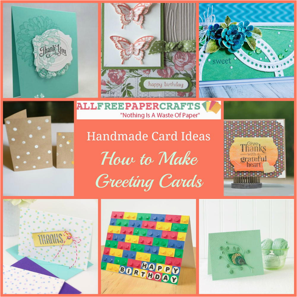 Create Birthday Cards With Photos 35 Handmade Card Ideas How To Make Greeting