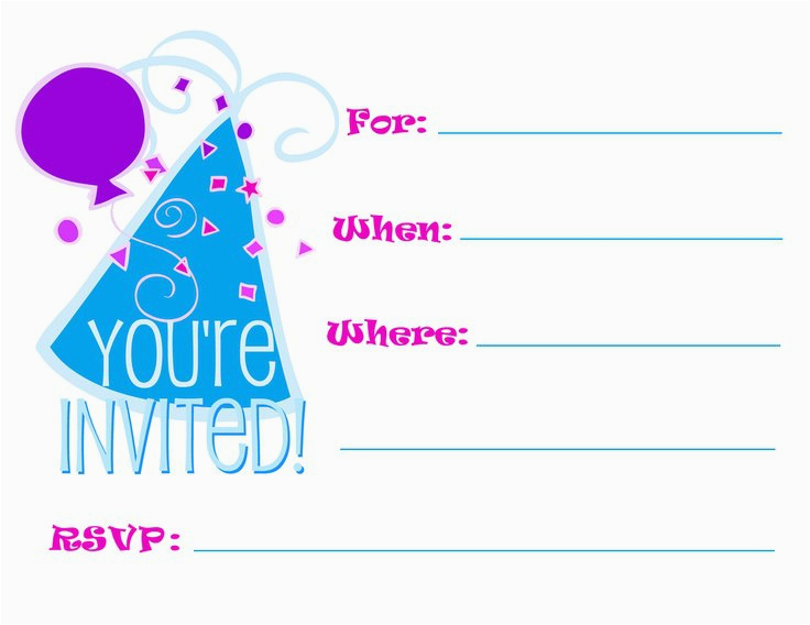 Create Birthday Invitations Online Free Printable Make Party