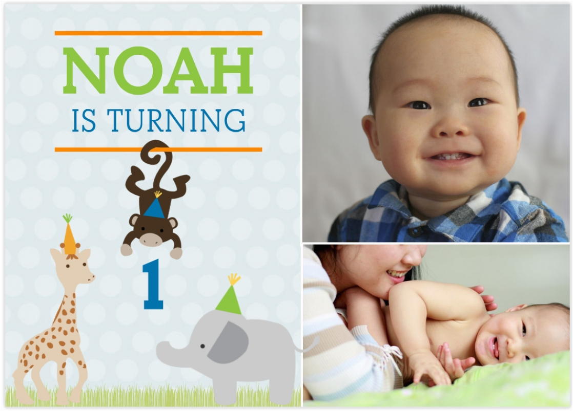 Create First Birthday Invitations Online Free How To With Modern