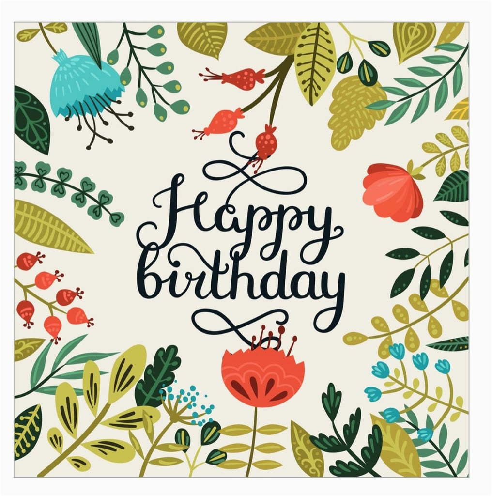 Create Free Birthday Cards Online To Print Printable For Birthdays Popsugar Smart Living