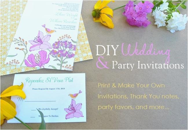Create My Own Birthday Invitation Birthdaybuzz