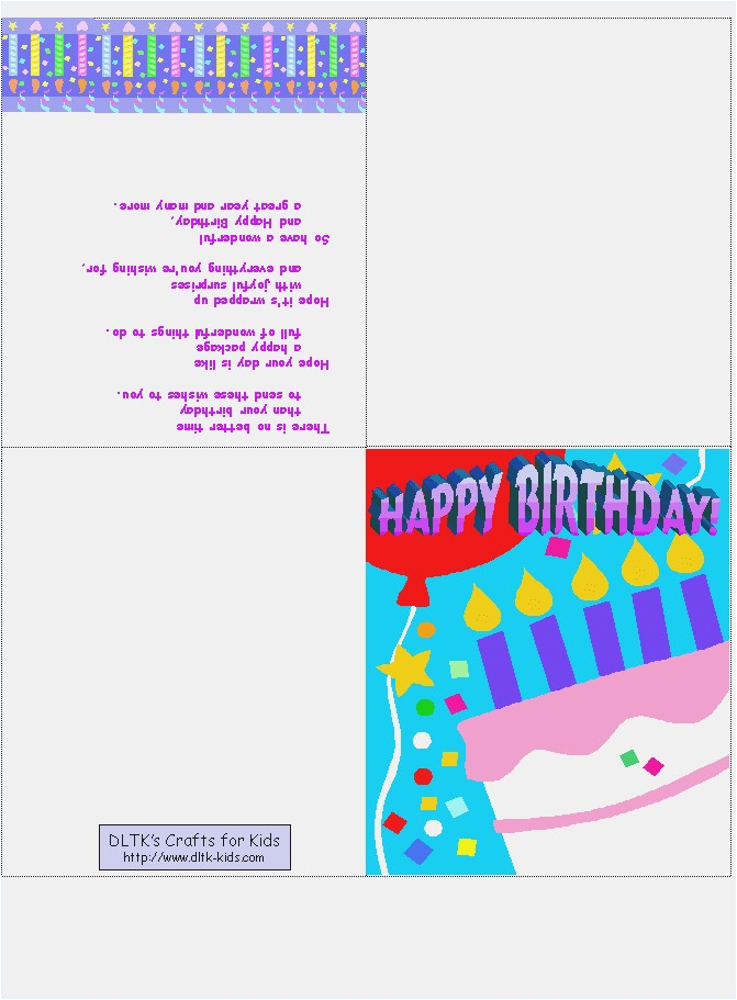 print your own birthday card