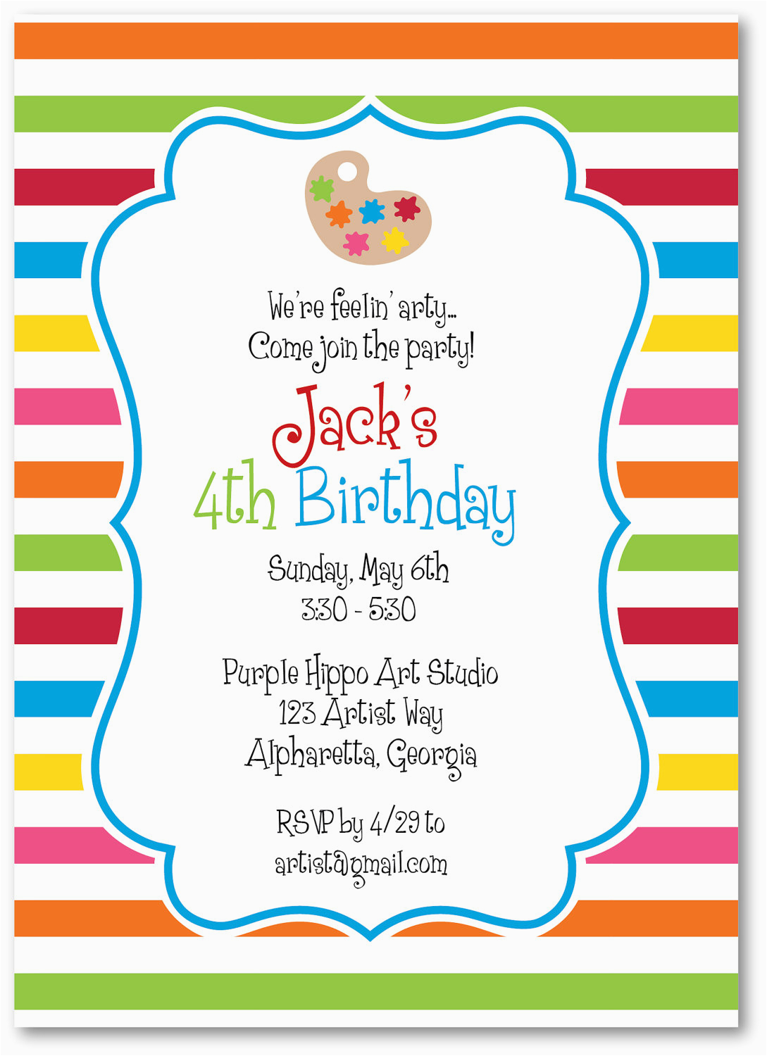 Creating Birthday Invitations Free Create Own Party Invitation Templates