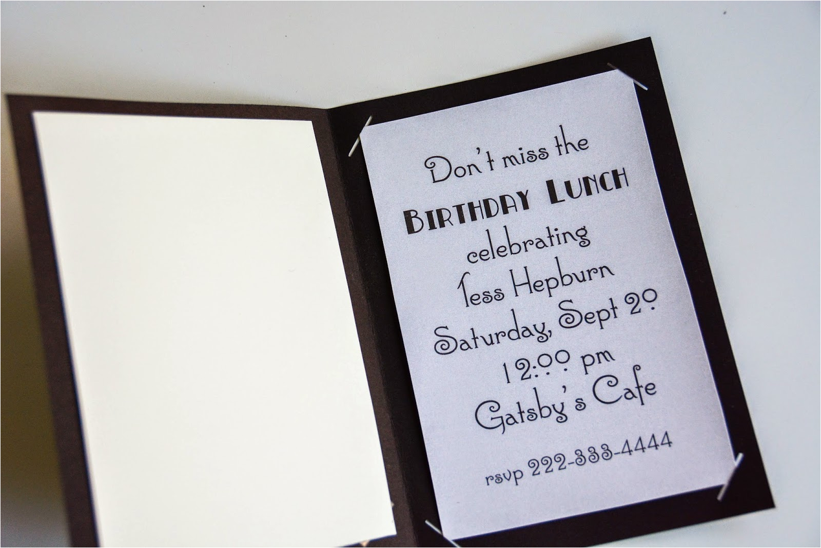 Cricut Birthday Invitation Templates Aesthetic Nest Craft Roaring 20s Birthday Invitation