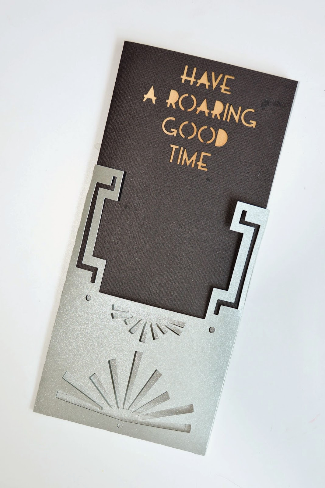 Cricut Birthday Invitation Templates Aesthetic Nest Craft Roaring 20s Birthday Invitation