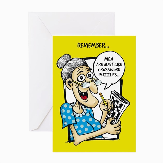 crossword puzzles greeting cards