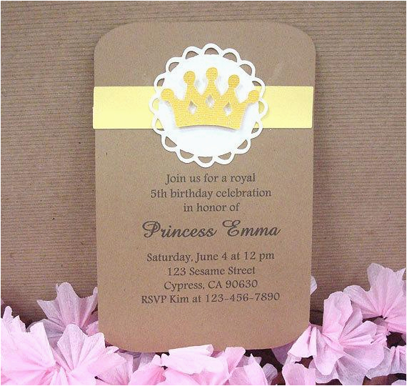 handmade yellow royal birthday crown