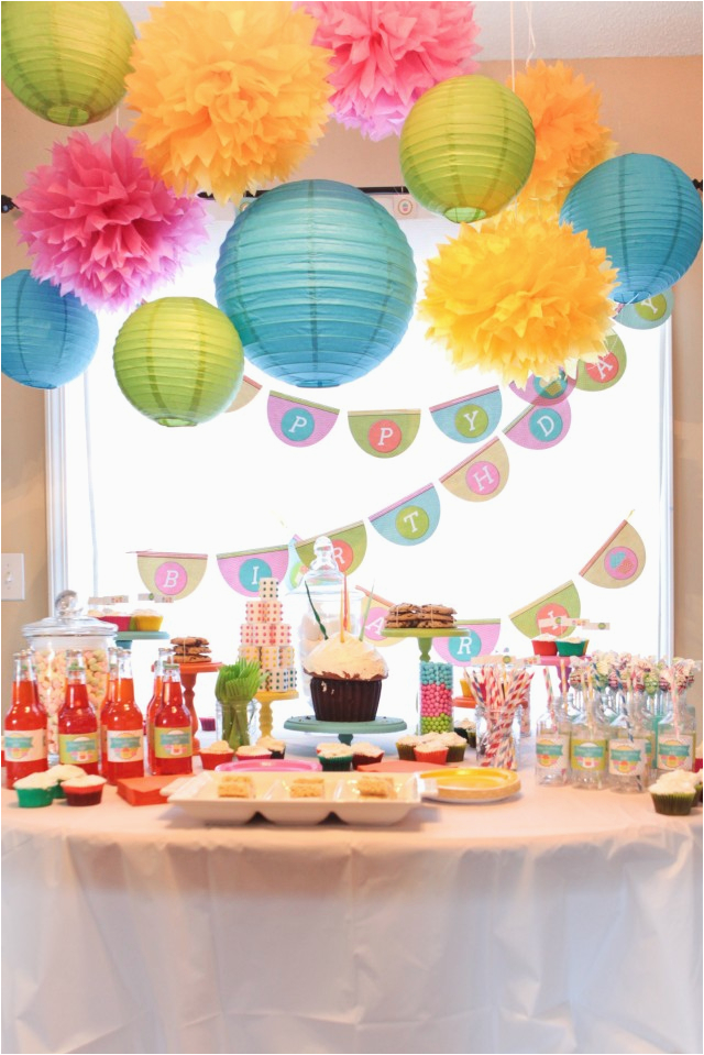a sweet cupcake party