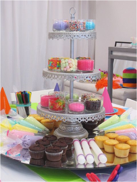 Cupcake Decorating Ideas for Birthday Party Cupcake Decorating Party On Pinterest Baking Party Neon