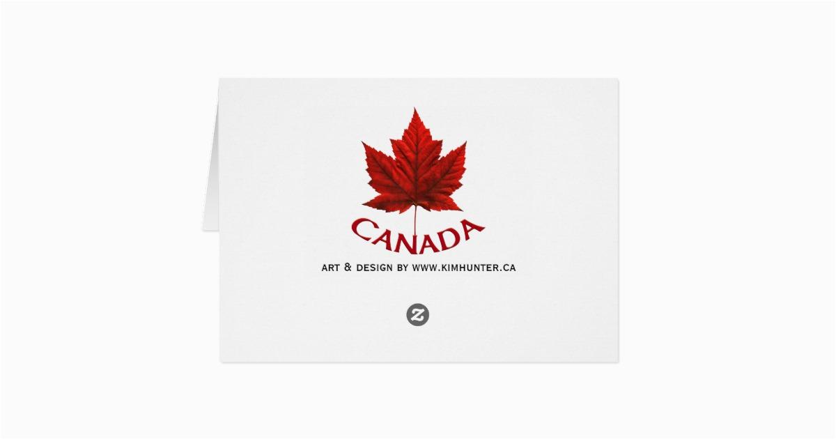 canada cards canada flag greeting cards custom zazzle